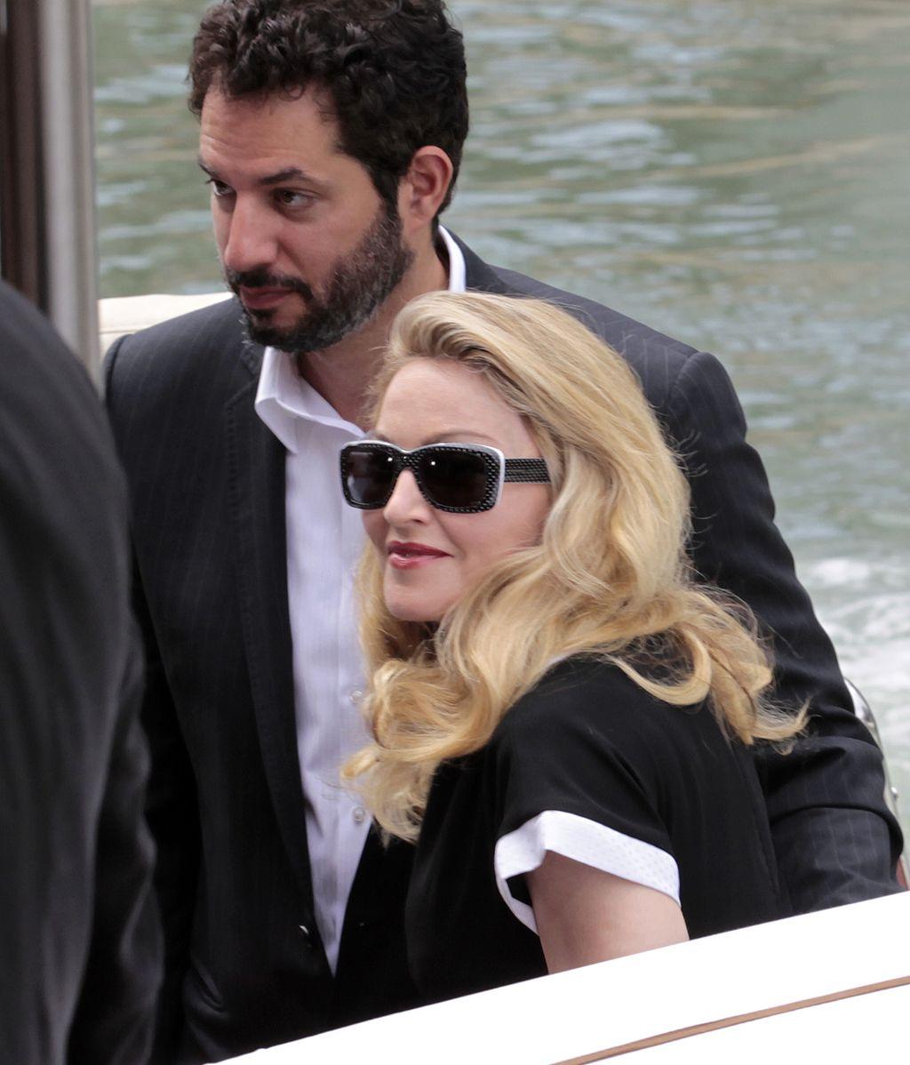 Madonna presenta película en la Mostra de Venecia