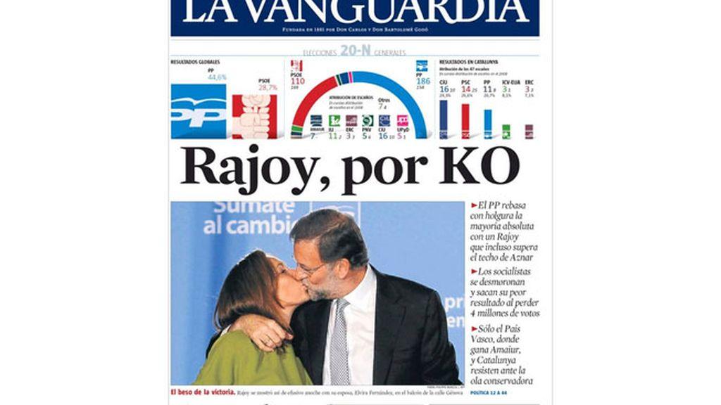 Todas las portadas sobre el resultado electoral