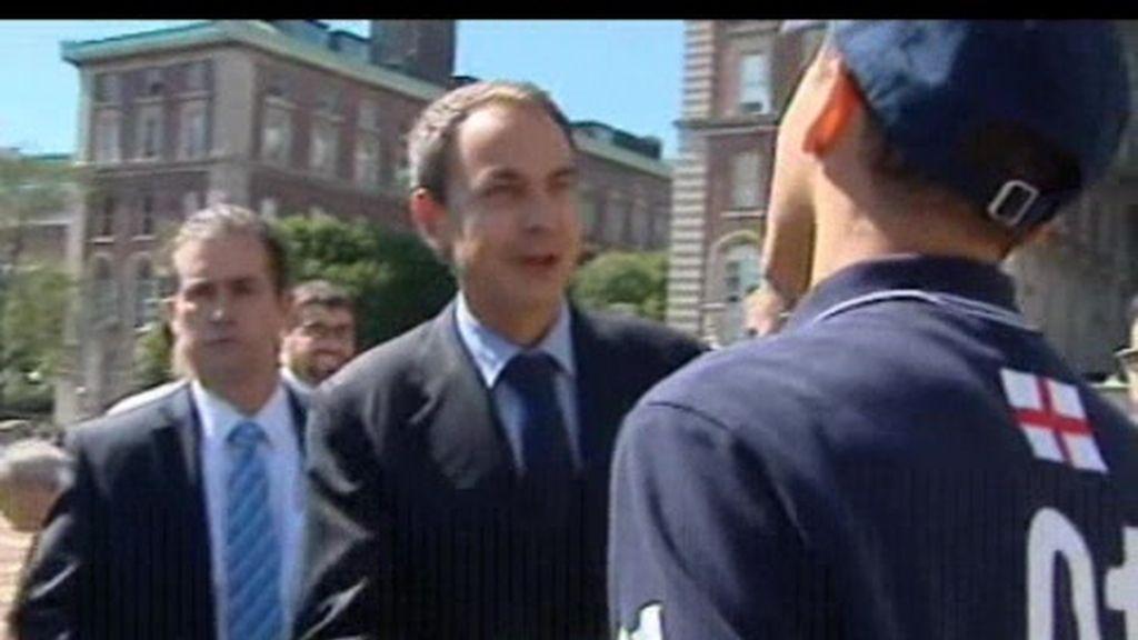 Zapatero, un presidente en Nueva York