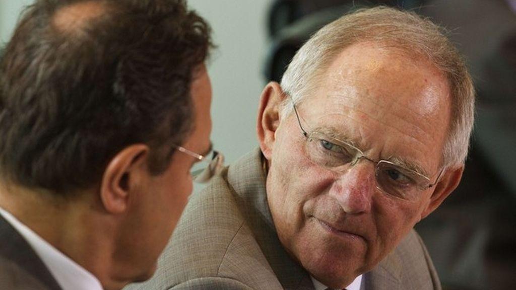 El ministro de finanzas aleman, Wolfgang Schaeuble