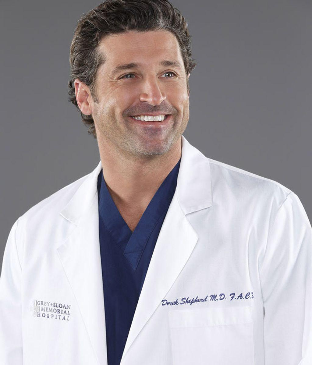 Patrick Dempsey da vida al neurocirujano Derek Shepherd, marido de Grey