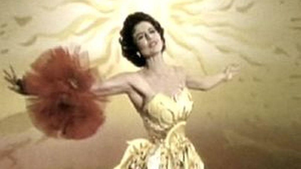 Cyd Charisse marco una época en el cine de EEUU. Foto: Informativos Telecinco.