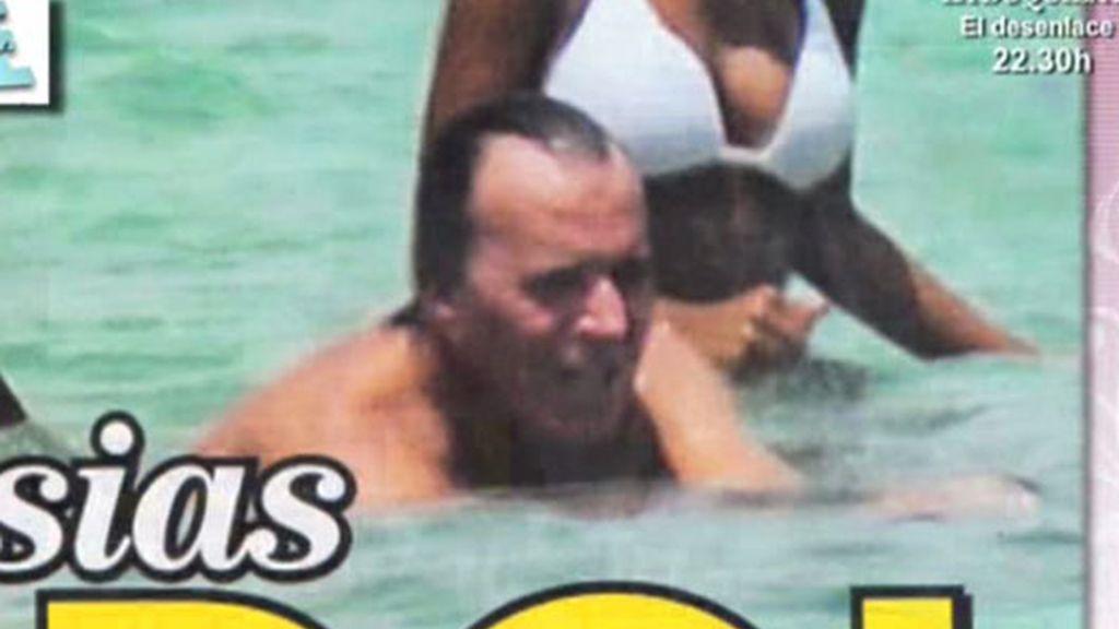 Julio Iglesias, ¡pillado!