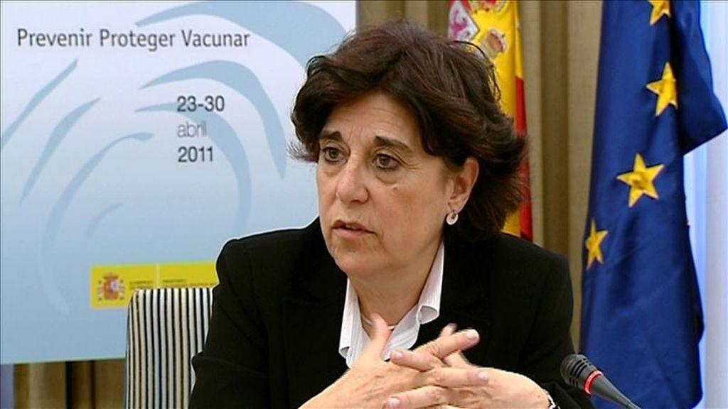 La directora general de Salud Pública y Sanidad Exterior del Ministerio de Sanidad, Política Social e Igualdad, Carmen Amela, ha explicado, en declaraciones a Efe, que las características de los casos graves y fallecidos son similares a las de la temporada 2009-2010. EFE/Archivo