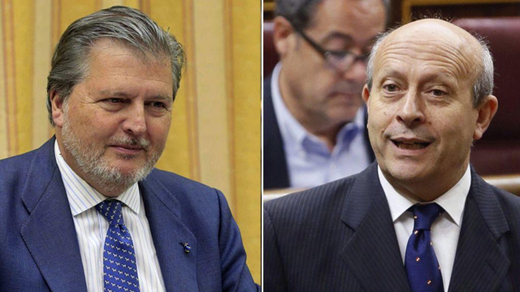 Íñigo Méndez de Vigo y José Ignacio Wert