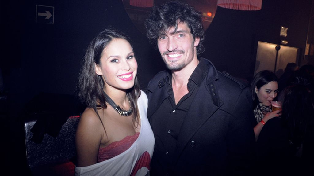 Mireia Canalda y su novio, el ex nadador Felipe López