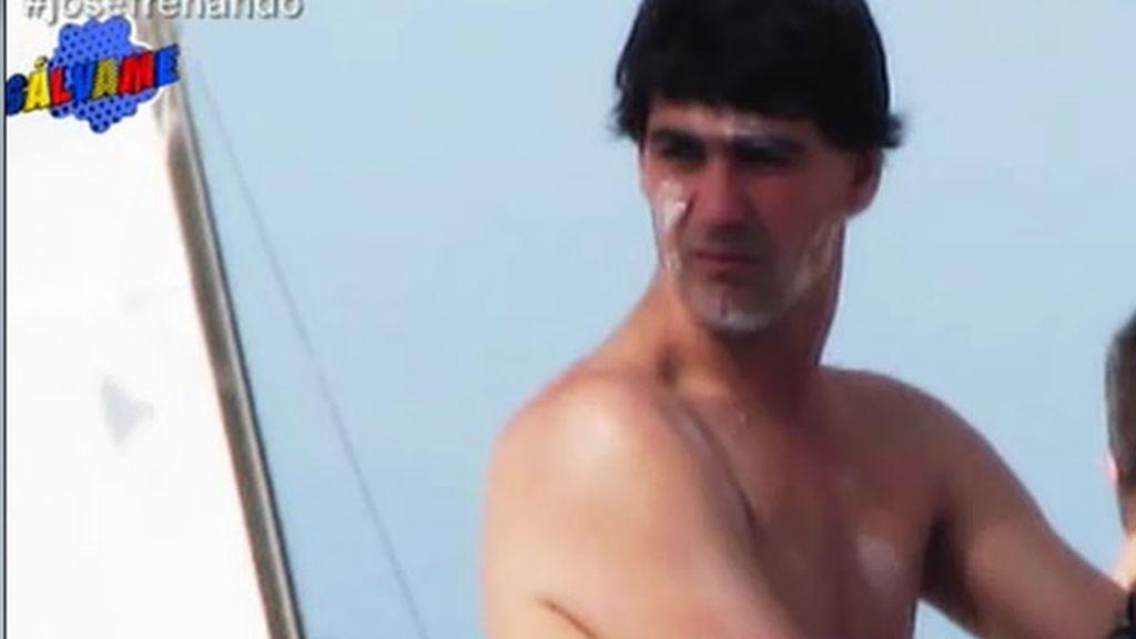 Nadando, tomando el sol... Así pasó Jesulín sus días en Santo Domingo