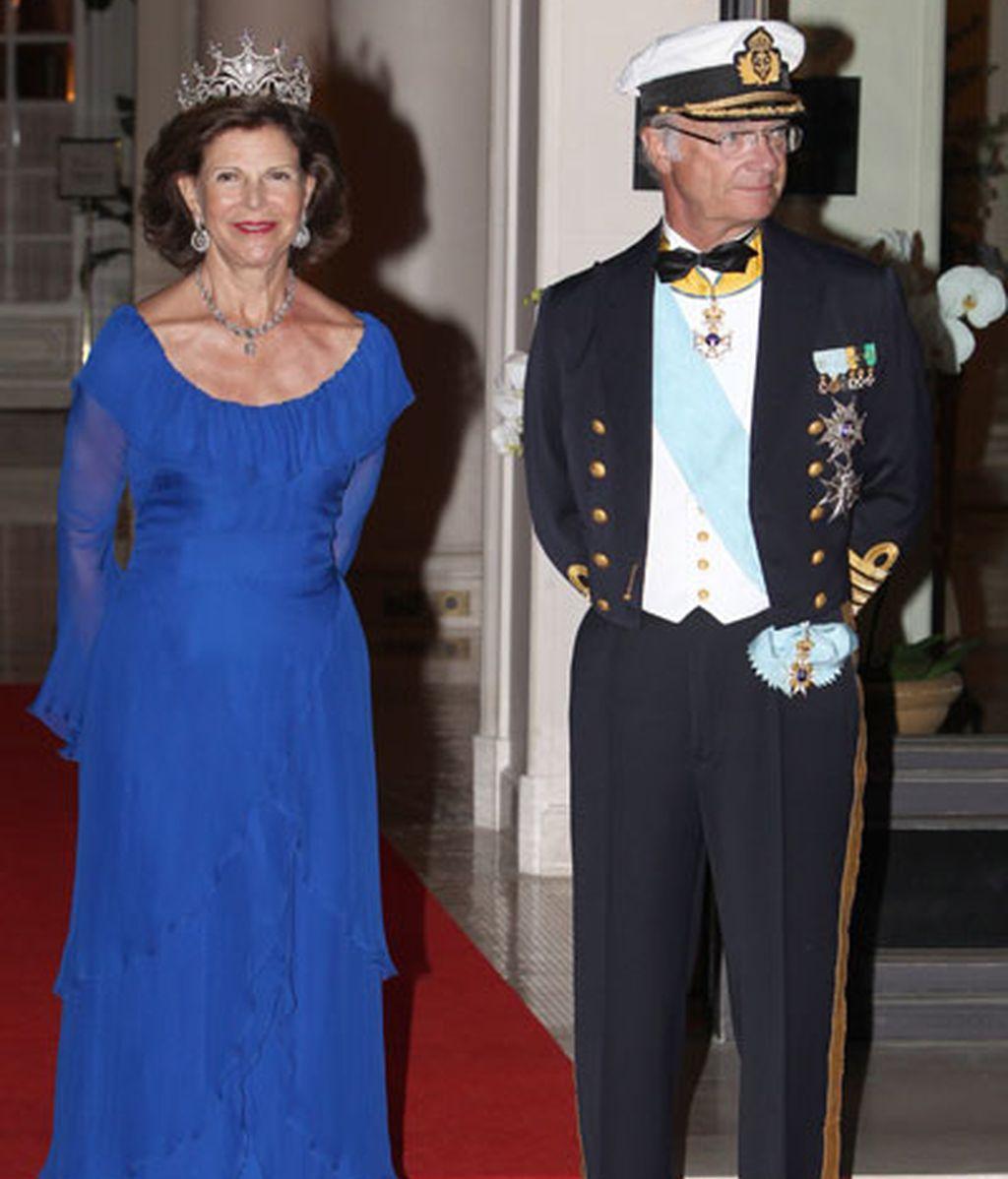 Los Reyes de Suecia