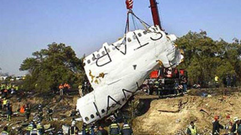 El accidentó dejó 154 víctimas el 20 de Agosto de 2008. Foto: Efe