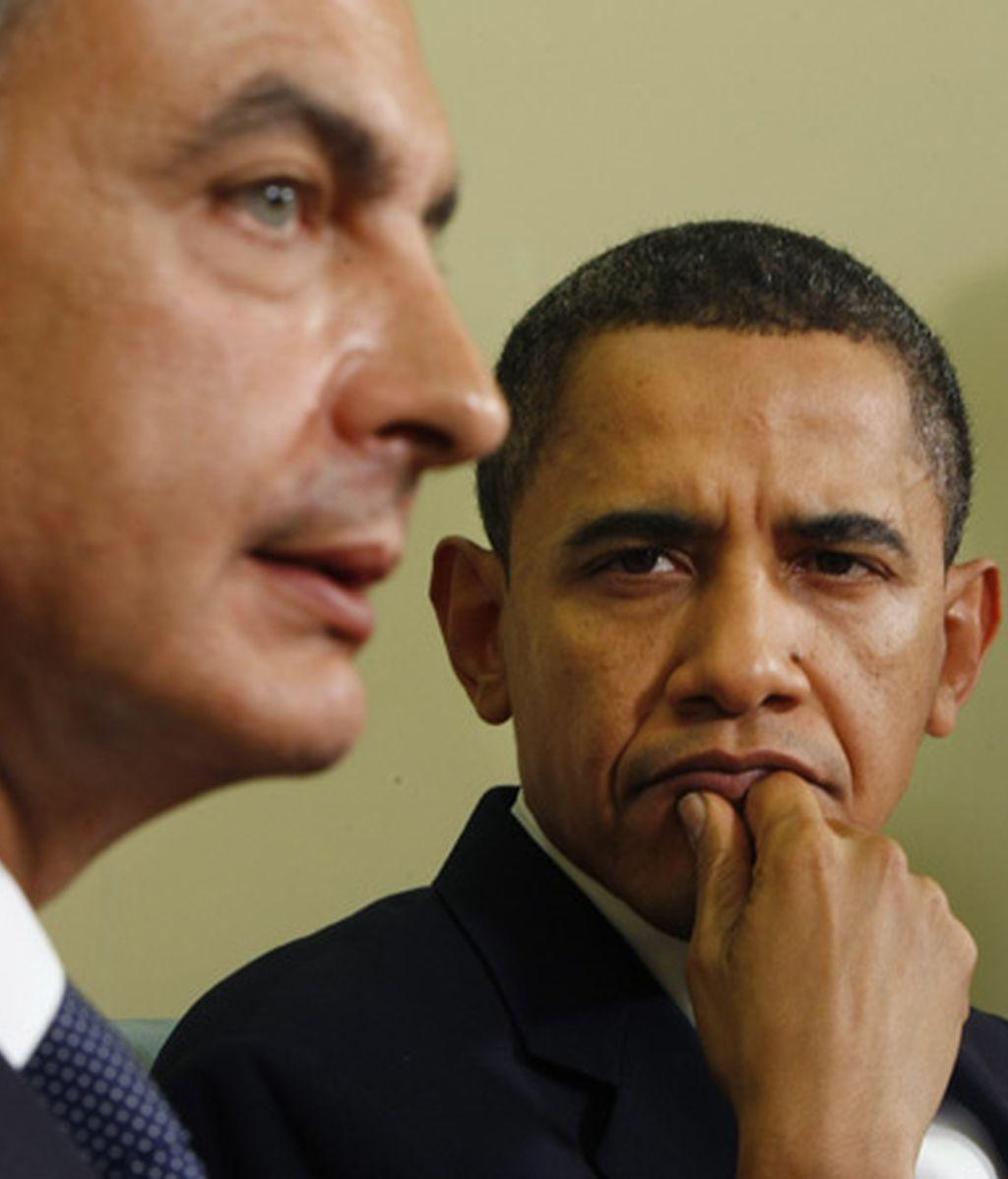 2009: Zapatero y Obama en la Casa Blanca