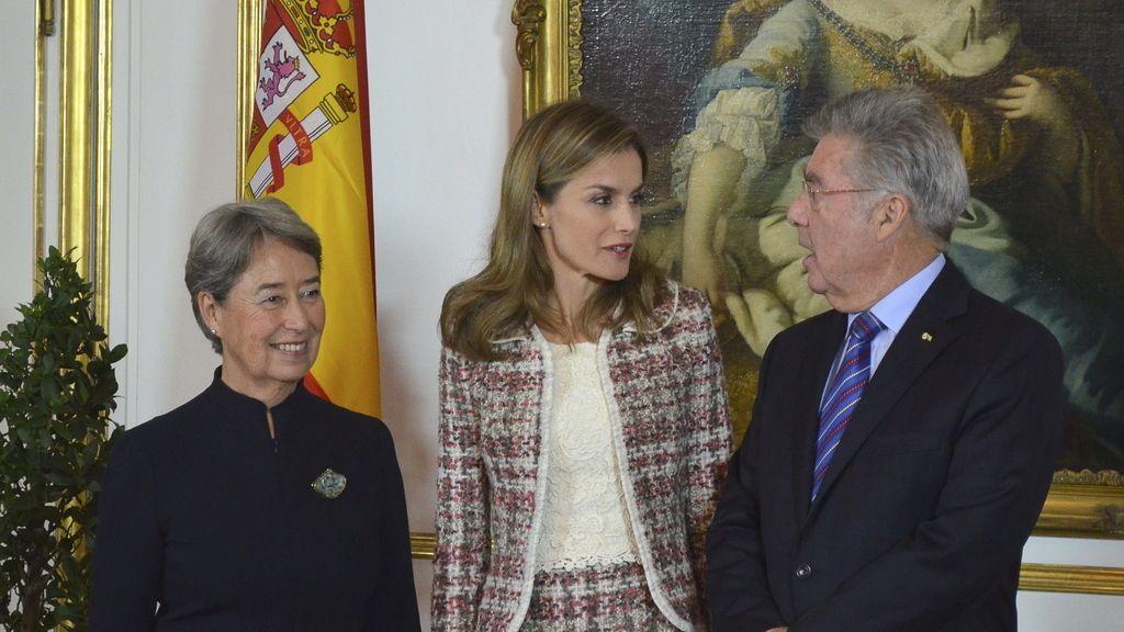 La Reina Letizia acude a Viena en su primer viaje oficial en solitario