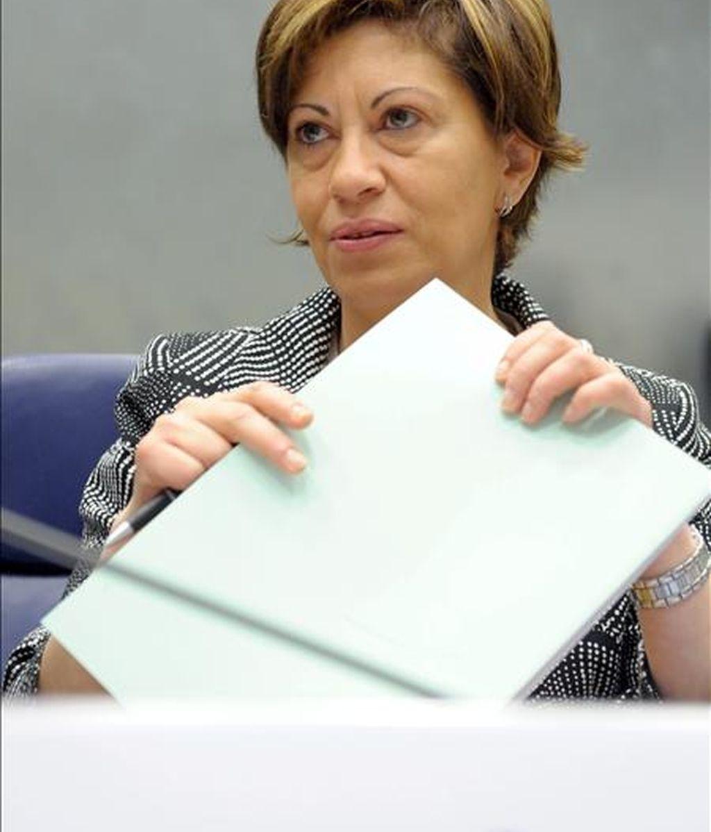 En la imagen, la ministra española de Agricultura, Elena Espinosa. EFE/Archivo