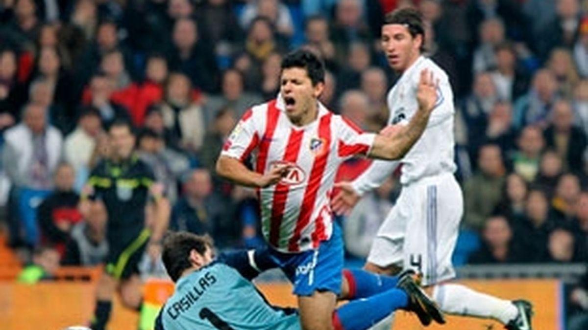 Segundo derbi madrileño de la temporada. Foto: EFE.