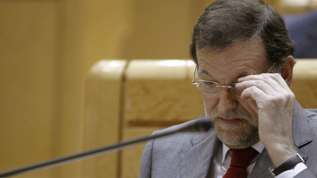Sesión del control al Gobierno en el Senado