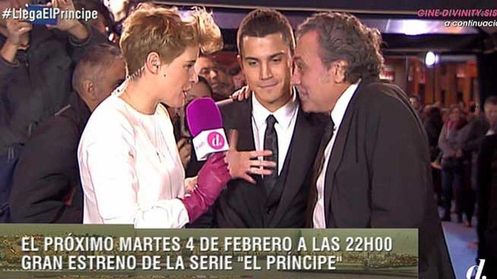 Álex González (Javier Morey) y José Coronado (Francisco Marcos)