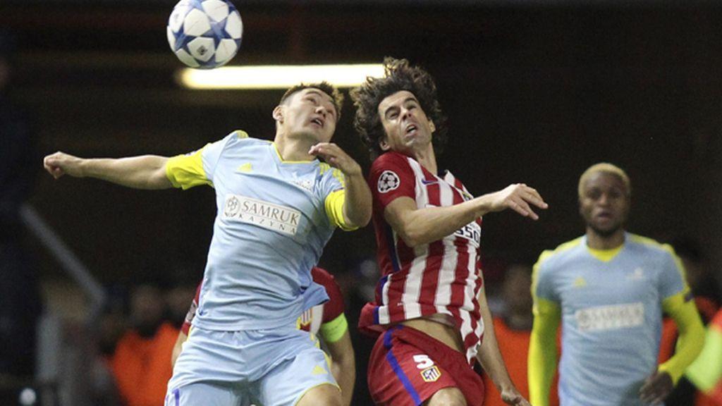 Liga de Campeones, Astaná contra el Atlético de Madrid
