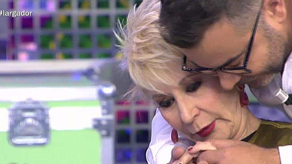 """Karmele, a Jorge: """"Siempre te metes conmigo"""""""