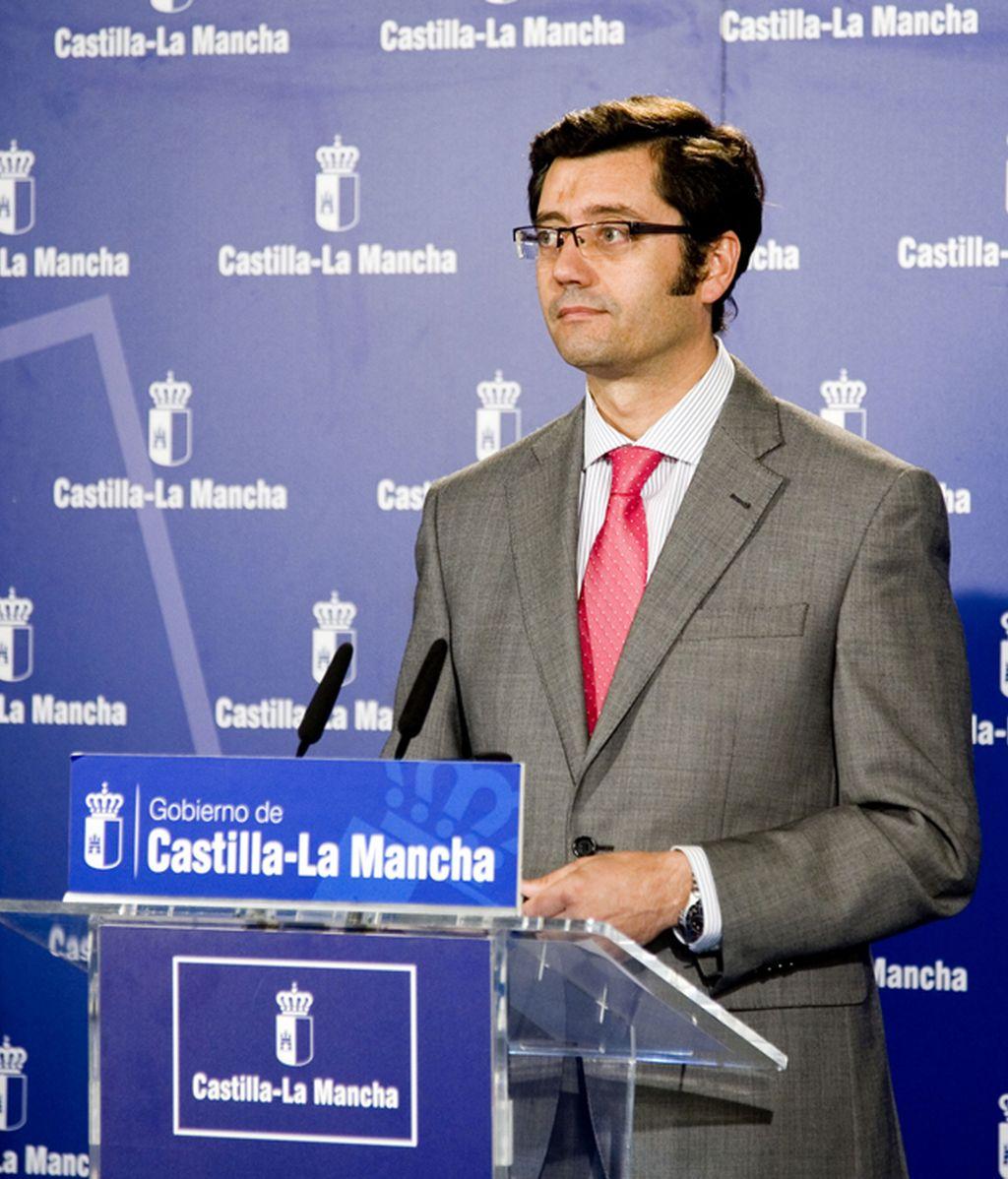 Arturo Romaní, consejero de Hacienda de Castilla-La Mancha