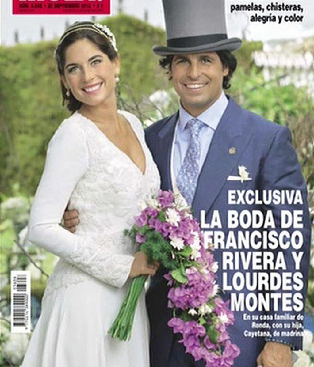 Fran Rivera y Lourdes Montes, en Hola