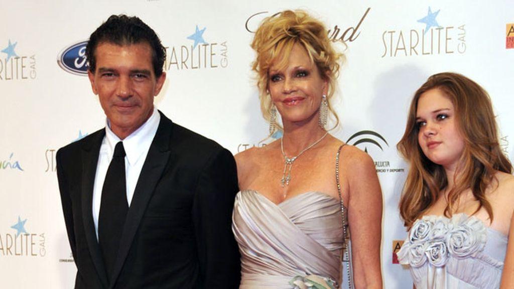 Melanie Griffith y Antonio Banderas, en el último Starlite de Marbella
