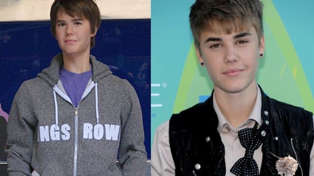 El doble de Justin Bieber en Madrid