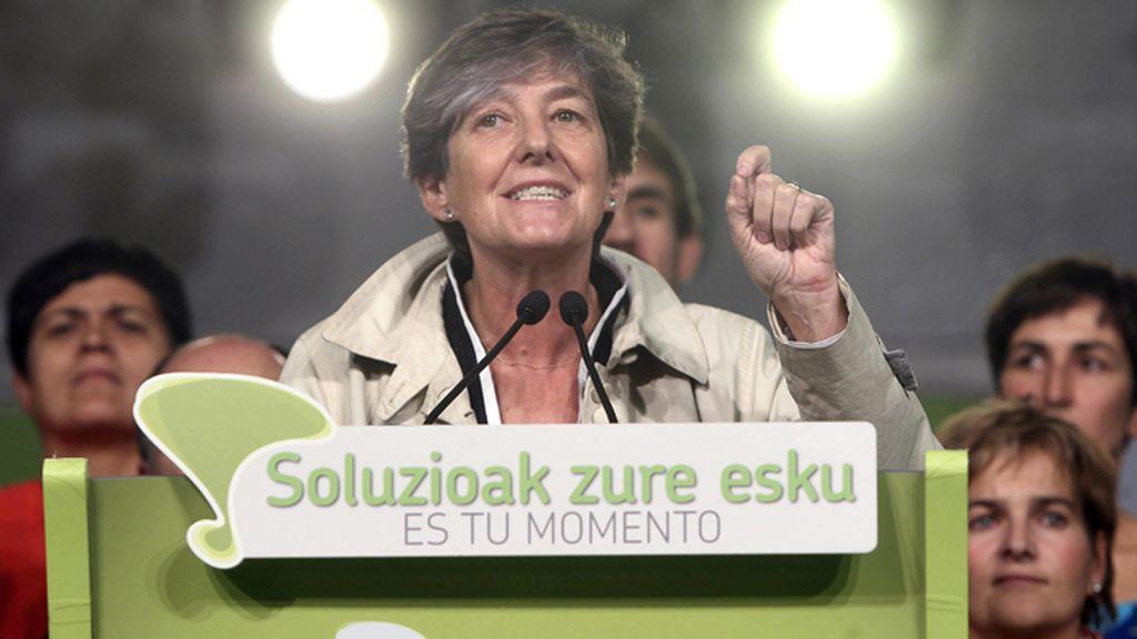 Mitin de cierre de campaña de EH Bildu en San Sebastián