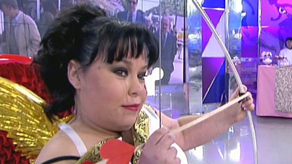La reportera de Sálvame ha asistido a unas clases de seducción