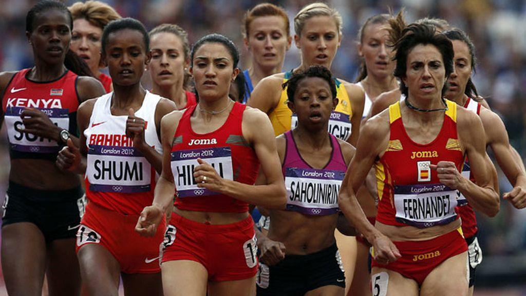 Nuria Fernández, fuera de la final de los 1.500 metros