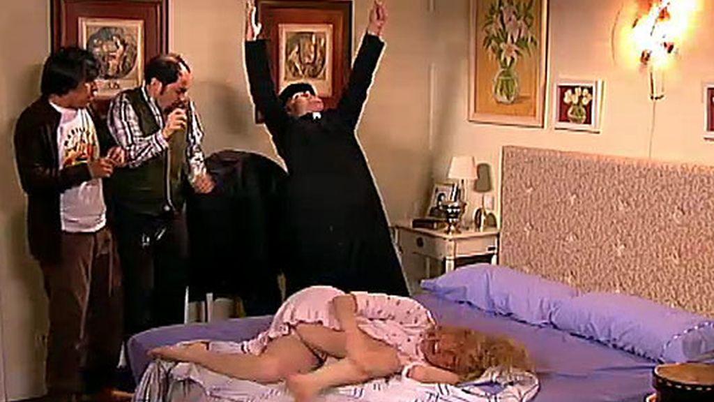 ¡Berta está poseida por el demonio!