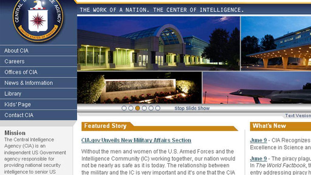 La página web de la CIA estuvo caída durante varios minutos
