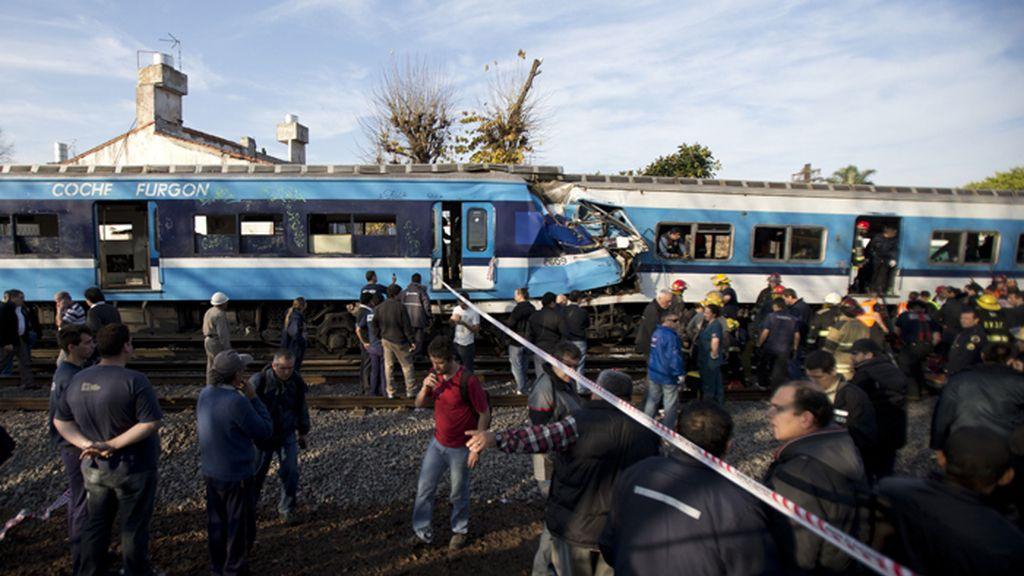 Trágico accidente ferroviario en Argentina