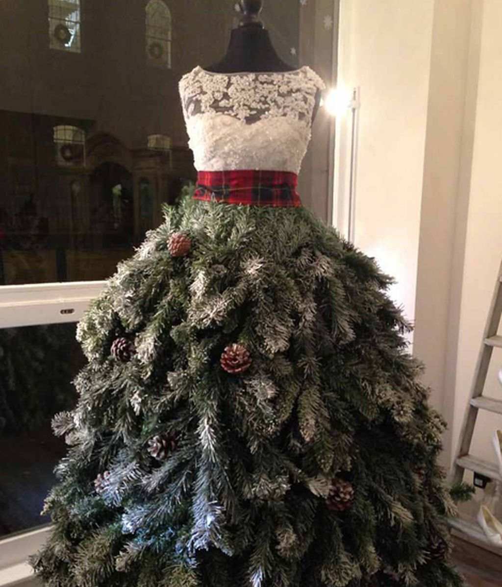 Los árboles de navidad más originales para estas fiestas