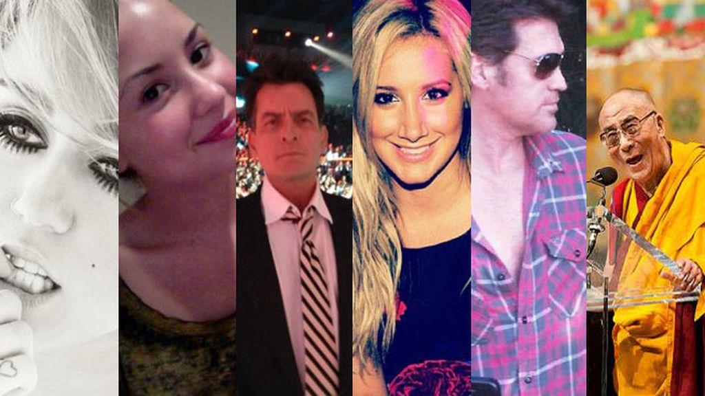¿A quién sigue Miley Cyrus?