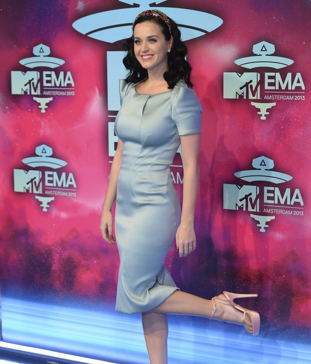 Katy Perry, en la alfombra de los MTV EMA