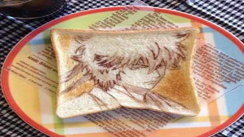 Arte en el desayuno