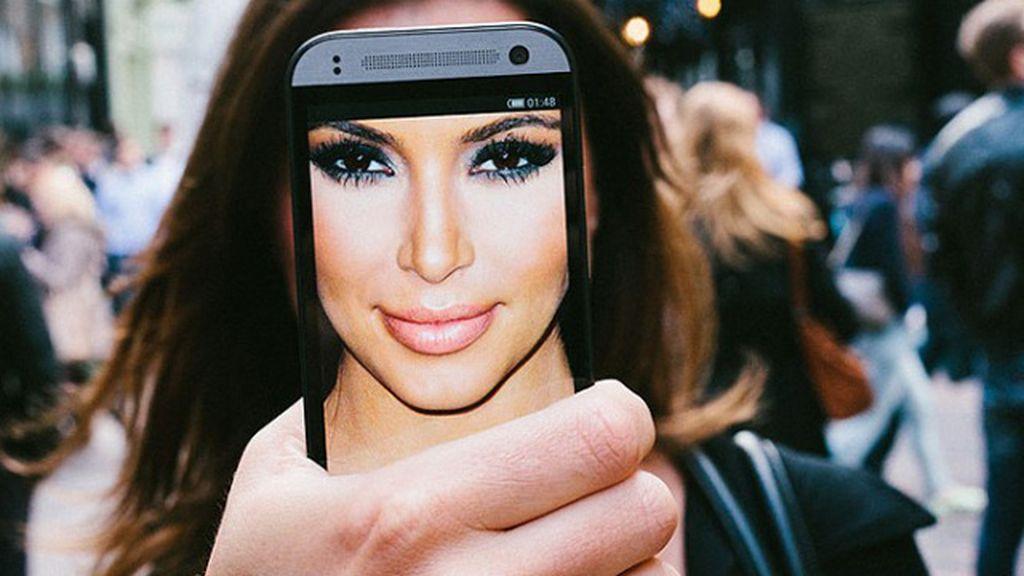 Las selfies de los famosos