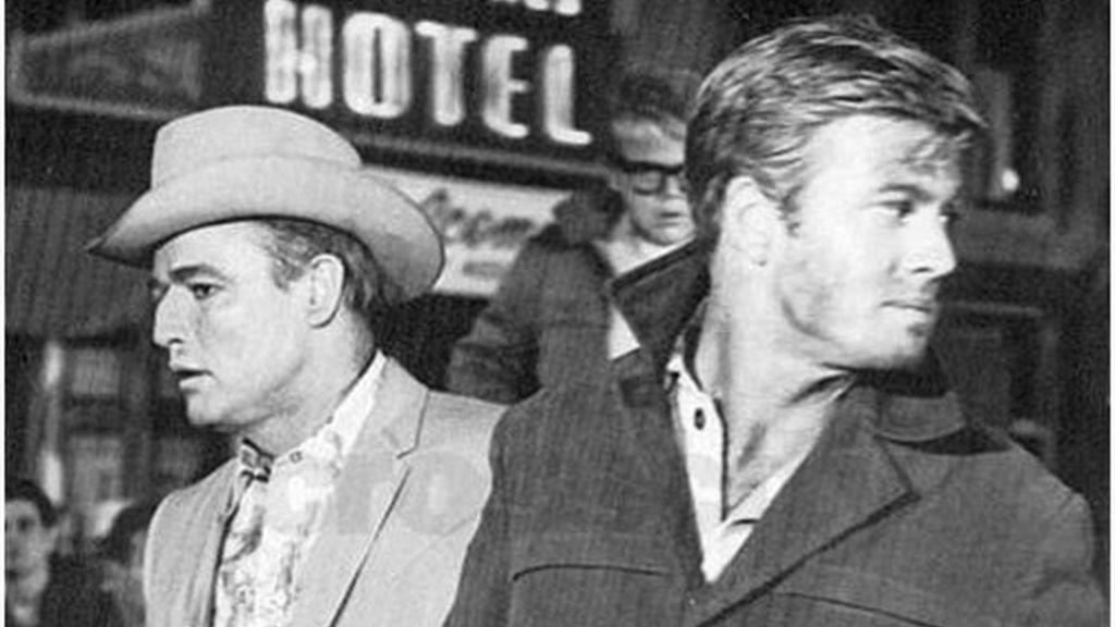 En 'La jauría humana', con Marlon Brando