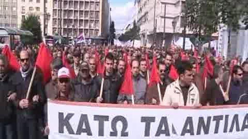 Grecia vuelve a ser un polvorín