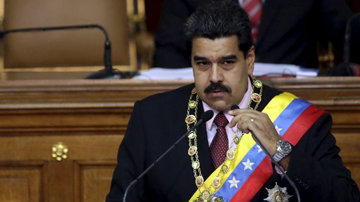 Nicolás Maduro interviene ante la Asamblea Nacional