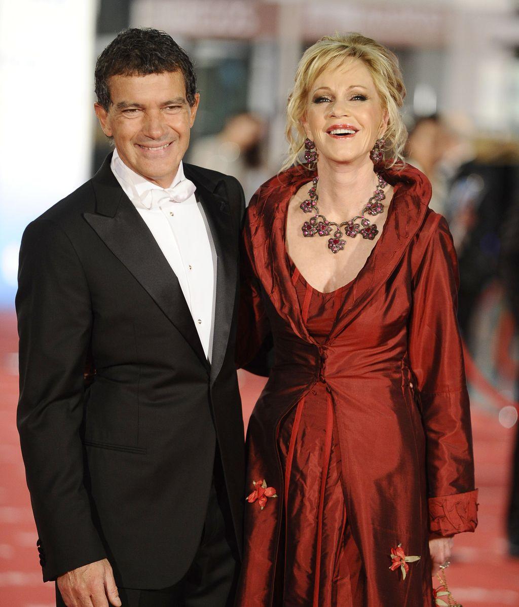 Antonio Banderas y su mujer Melanie Griffith