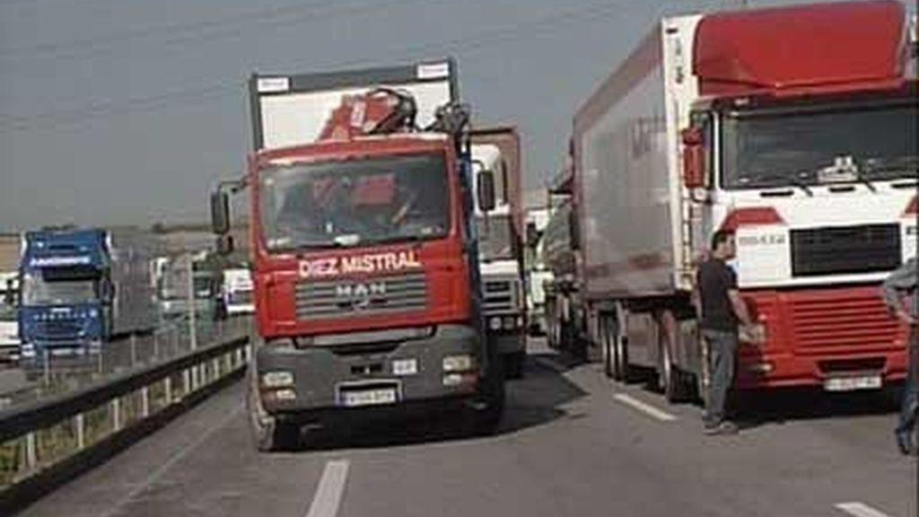 Colapso en las carreteras