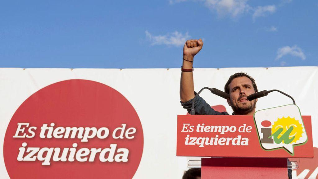 Cierre de campaña de IU en Sevilla