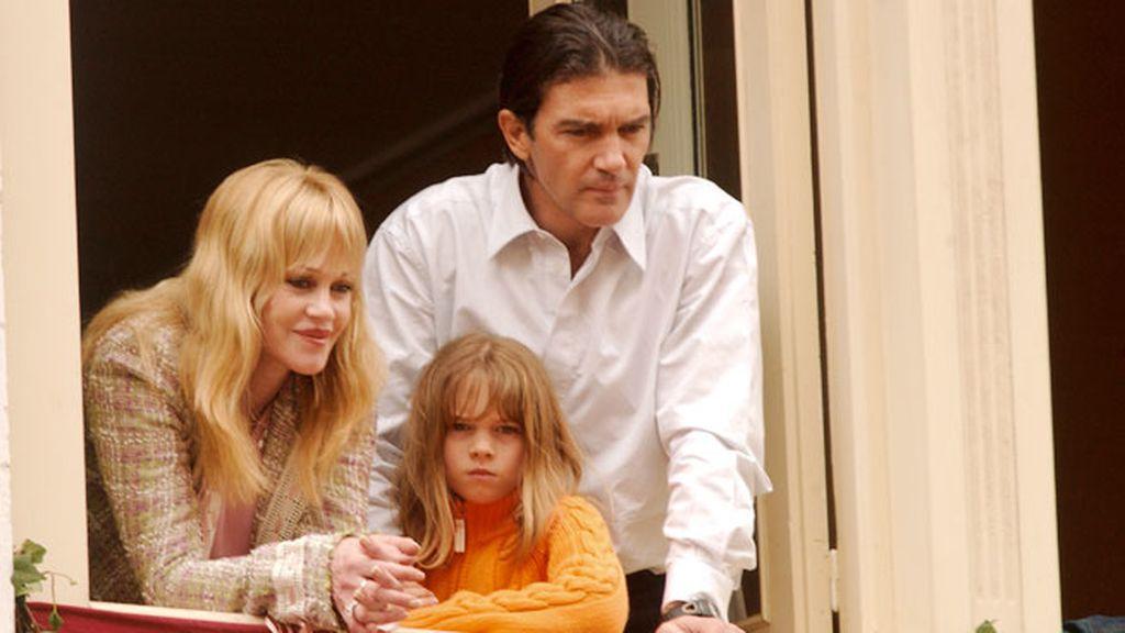 Stella del Carmen Banderas es la única hija del matrimonio