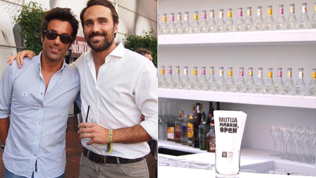 famosos, gin&tonic y tenis