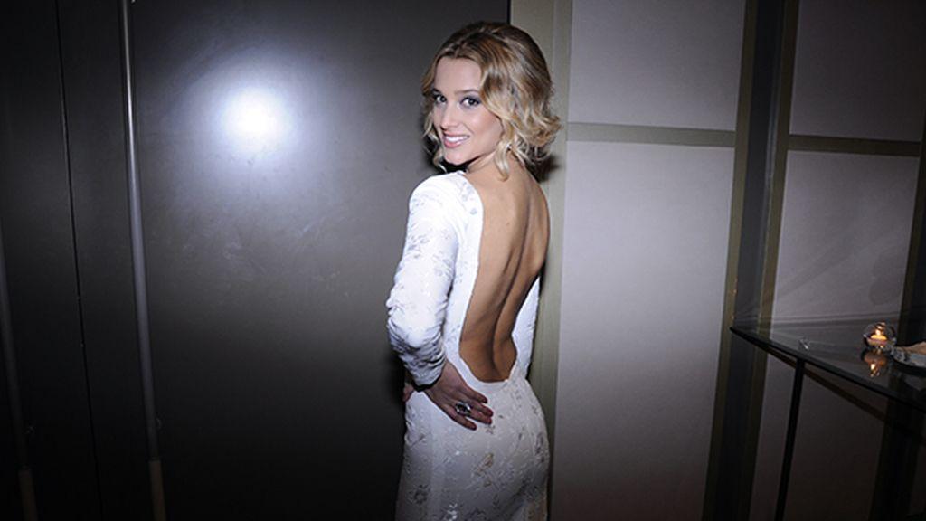 Corina Randazzo acudió a la sexta edición de los premios Mujer Hoy con este vestido de Borja Varela