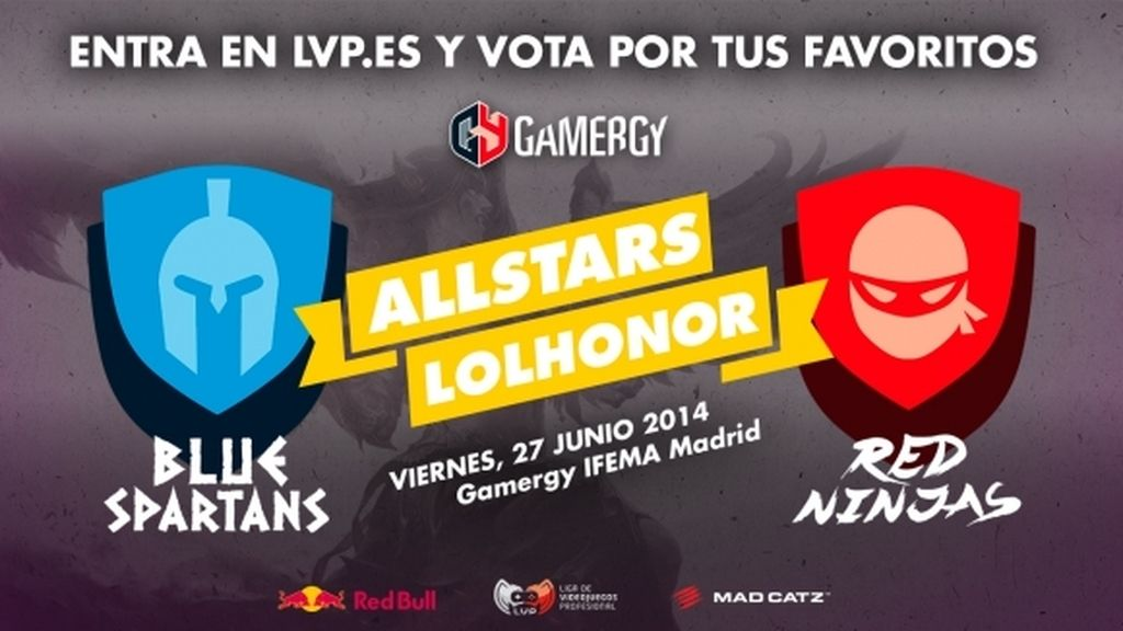 All-Stars, League of Legends, LVP, Gamergy