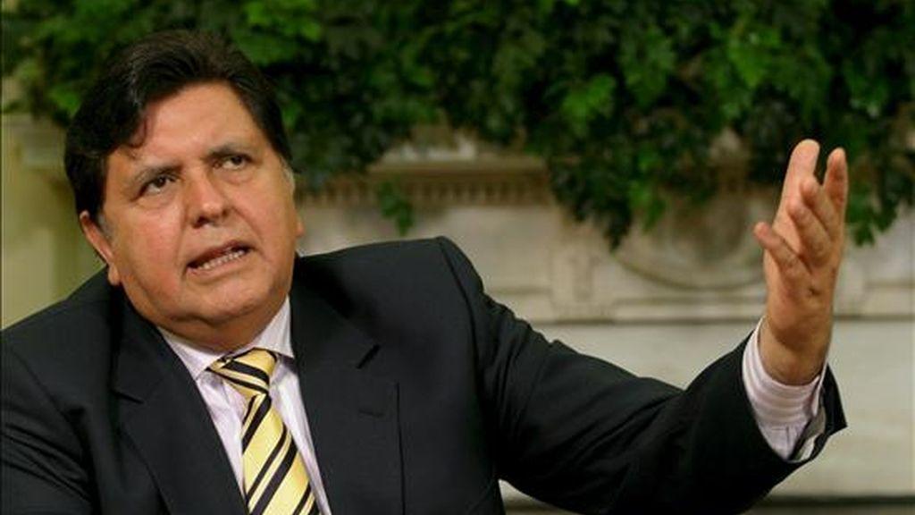 """El gobernante, cuya popularidad cayó al 21 por ciento tras los enfrentamientos en la Amazonía, aseguró que el Perú """"es un centro vital para los hechos continentales"""". EFE/Archivo"""