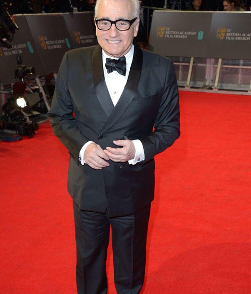 Martin Scorsese, fiel a la cita pre-Oscar más importante