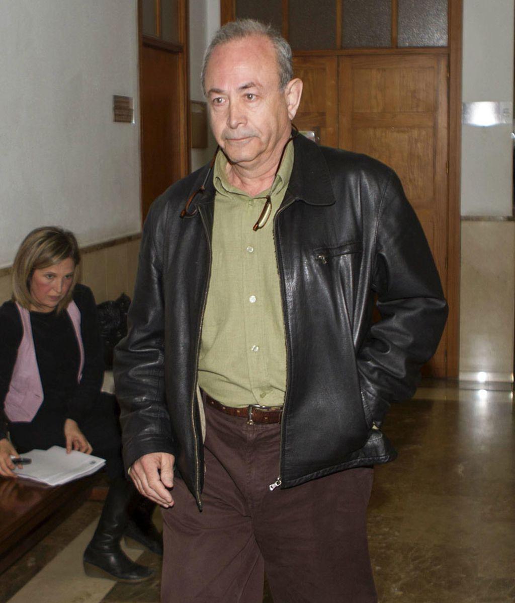 El juez Castro en los juzgados de Palma de Mallorca