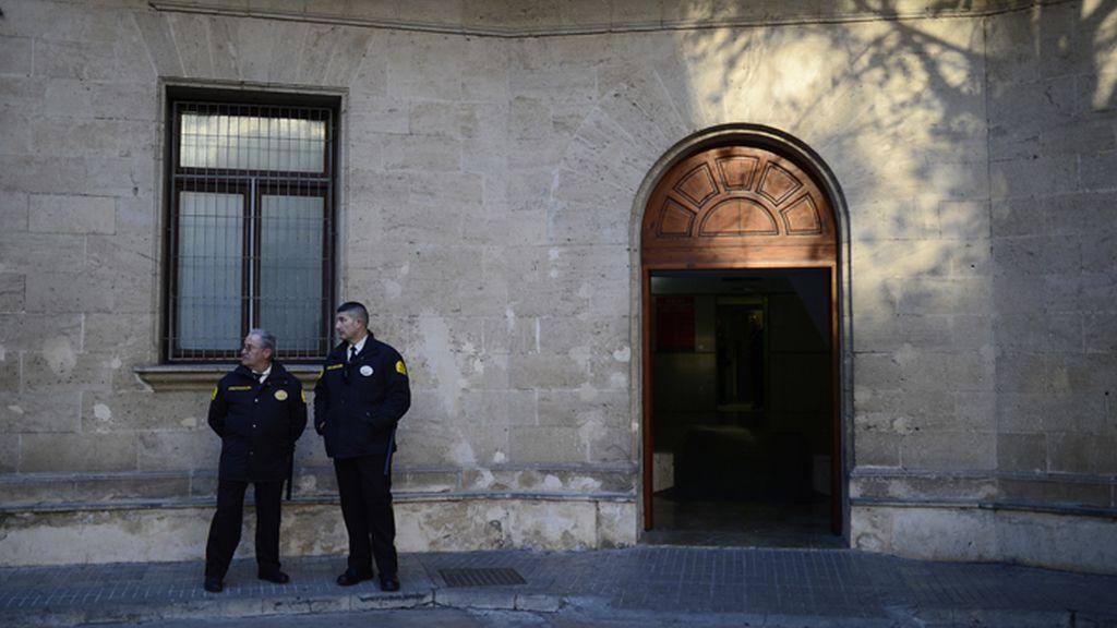 Todo listo en los Juzgados de Palma de Mallorca para la declaración de la infanta Crsistina